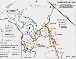 100 Acre Wood Map Hiking In Maine With Kelley 5 8 15 Perch Pond