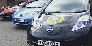 nissan leaf south africa uk u0027s all electric taxis and more green transport across europe