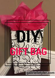 diy gift bags an easy how to gabrielle tyler