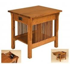 Storage End Table Oak End Tables With Storage Foter