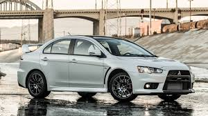 mitsubishi crossover 2015 the 2015 mitsubishi lancer evolution final edition is the end of