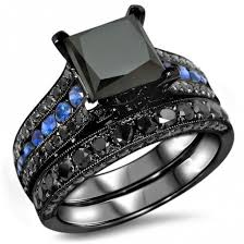 black and blue wedding rings jewels evolees jewelry online rings store fashion rings women