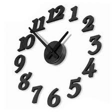 Modern Wall Clock Black Modern Wall Clock For Living Room U2013 Wall Clocks