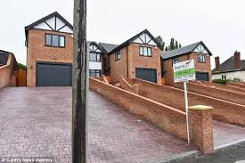 build house walsall builders build house with pole in driveway daily mail