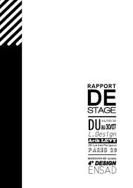 rapport de stage 3eme cuisine rapport de stage chez l design by estelle meissonnier issuu