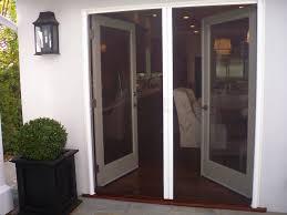 Door Retractable Screen Doors In Sherman Oaks Matched With White