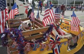 Flag Day Songs Flag Waving Californians Turn Out For July 4th Parades 710 Knus