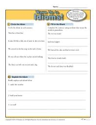 idioms warm up activity idioms warm and activities