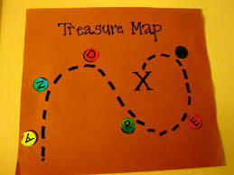 Blank Pirate Treasure Map by Toddler Approved Preschool Pirates Says Argh