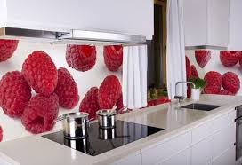 Red Color Kitchen Walls - the kitchen in the red color home interior design kitchen and