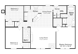 Pueblo House Plans by The Homeland Ml30483h Manufactured Home Floor Plan Or Modular