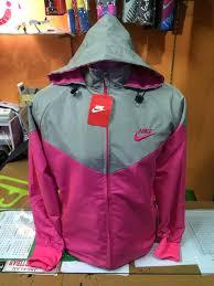 Jual Jaket Nike Parasut harga jaket nike abu abu pink parasut murah jaket pria jaket wanita