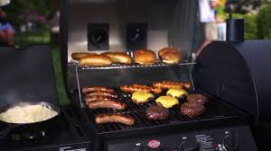 backyard grill gas charcoal combination grill dual fuel charcoal and gas grill turning it up duo 5050 youtube