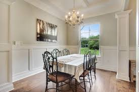 elegant dining room in our