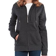 amazon com baubax travel jacket sweatshirt female charcoal