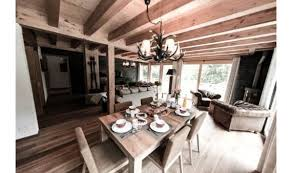 Ski Chalet Interior Ski Chalet Winter Escape Elegant Chalet Le Torrent In The Swiss