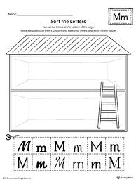 all worksheets trace letter m worksheets free printable
