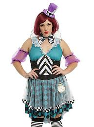 Mad Hatter Halloween Costumes Girls Alice Wonderland Costume Dresses U0026 Merchandise Topic