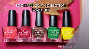 look nail color fall collection live swatches ig asp2016 youtube