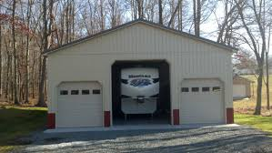 36x48x14 residential garage in zions crossroads va rdw12019