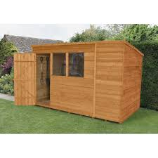 pent roof wooden sheds u2013 next day delivery pent roof wooden sheds