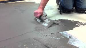 Flo Coat Concrete Resurfacer by How To Skim Coat A Floor Youtube
