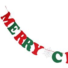 merry christmas garland decoration u2013 decoration image idea