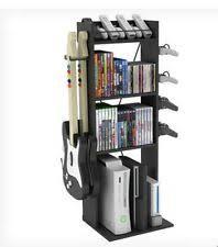 Black Dvd Cabinet Atlantic Elite Oskar Multimedia Storage Cabinet Black Gray Ebay