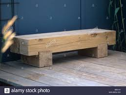 contemporary oak wood minimalist garden bench seat lengths of
