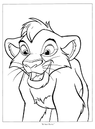 printable coloring pages lion king