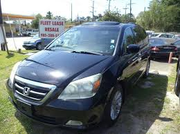 lease a honda odyssey touring 2007 honda odyssey touring 4dr mini w navi and dvd in slidell