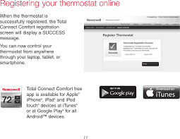 Total Connect Comfort Honeywell Th8321wf01 Th8321wf User Manual 33 00066efs 03 Wi Fi Visionproâ