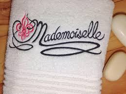 mademoiselle towel hand towels hers bath towels u0026 towel sets