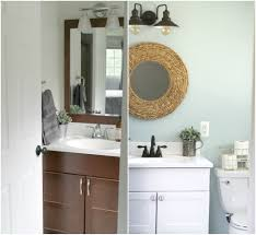 Small Bathroom Makeovers Before And After - friendly small bathroom makeover
