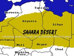 Desert Map Sahara Throughout Desert Map Roundtripticket Me