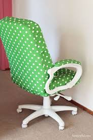 computer chair cover how joyful how to transform a boring chair with fabric and