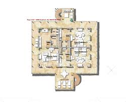 mcm design island house plan 8