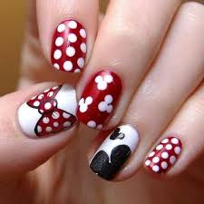 imagenes uñas decoradas mickey mouse mickey mouse nails nails 3 pinterest