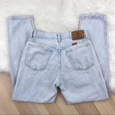 wrangler light blue jeans wrangler denim vintage light wash high waist mom jeans poshmark