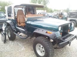green jeep wrangler 1995 jeep wrangler green