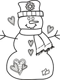 printable coloring pages for kids christmas