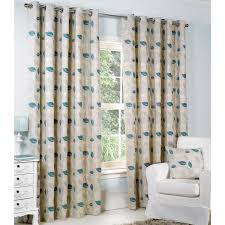 Curtains Online Buy Allen Lined Eyelet Curtains Blue With Matching Accessories