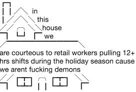 Ascii Art Meme - in this house ascii art meme and funny comic strips