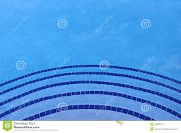 Blue Border Tiles Shades Of Blue Swimming Pool Tile Background Stock Photo Image