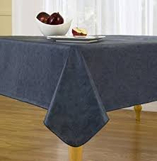 sonoma damask print flannel backed vinyl tablecloth