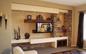 Custom Drywall Entertainment Centers D Design Rendering Of A - Family room entertainment center ideas