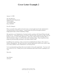 cover letter examples for office assistant cover letter tips for