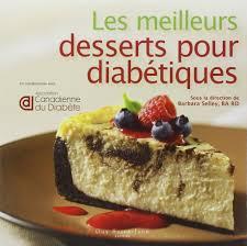 les meilleurs desserts pour diabétiques amazon ca barbara selley