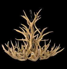 antler chandeliers and lighting company the deer lodge this mule deer antler chandelier antler