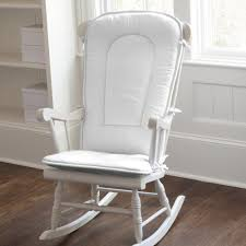 White Rocking Chairs For Nursery Solid White Rocking Chair Pad Rocking Chair Cushions Carousel